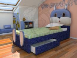 Кровать Shale Зайка 70х160